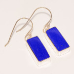 z lapis earrings
